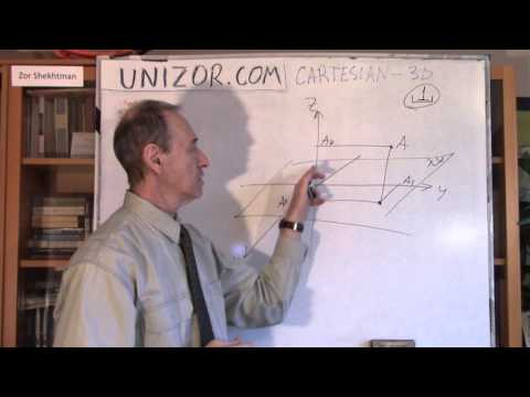 Unizor - Geometry3D - Cartesian Coordinates