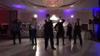 Groomsmen Surprise Dance to Uptown Funk