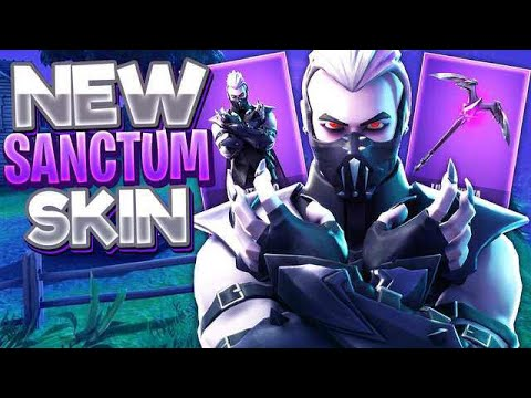 *NEW* Sanctum Skin w/ the MoonRise Pickaxe! (Fortnite)