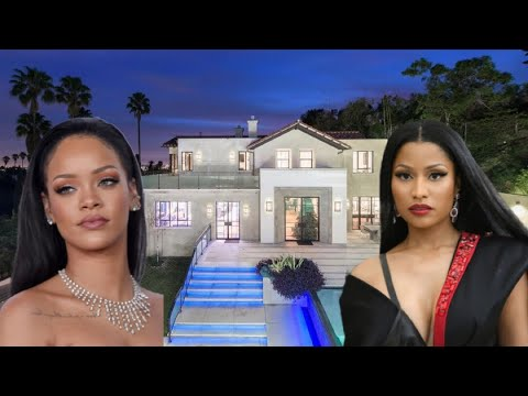 Nicki Minaj's House Vs Rihanna's House 2018