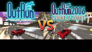 Outrun Online Arcade (PS3) Vs Outrun 2006 Coast 2 Coast (PC)