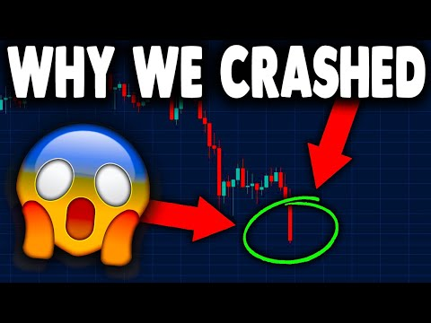 THE REAL REASON WHY BITCOIN CRASHED!! BITCOIN PRICE TARGET & ETHEREUM PRICE PREDICTION!! (BTC & ETH)