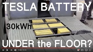 30 kWh TESLA BATTERY under the VW Bus Floor?  -  Vlog 2