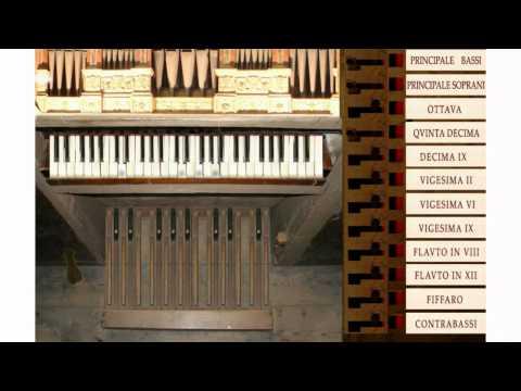 Canzona Detta L'Albergona By Antonio Mortaro - Organ