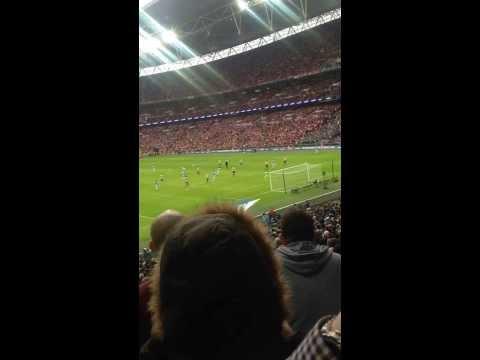 Yaya toure goal at Wembley City Vs Sunderland