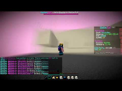 BASEWORK ON THE TITAN BASE + RANK GIVEAWAY!   Minecraft FACTIONS Series #2 (StellarPvP Factions)