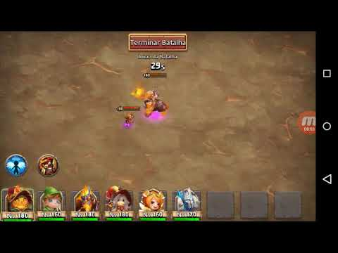 Castle Clash | Boss 5 Full 3min Strategy