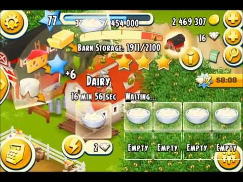 Hay Day - How I make Money, Get Diamonds, and Play