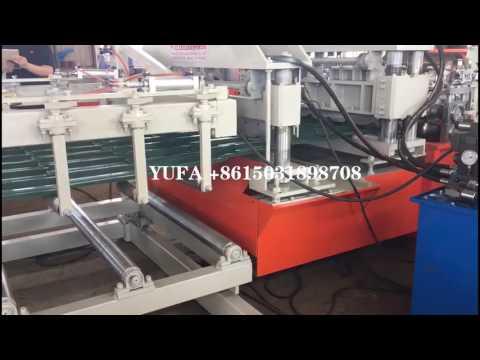Glazed tile roll forming machine original for America market 2017-6-28
