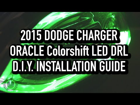 2015+ DODGE Charger ORACLE ColorSHIFT® LED DRL Upgrade – D.I.Y. Install Guide