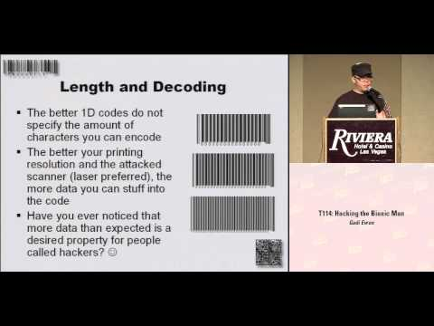 DEFCON 16: Toying with Barcodes