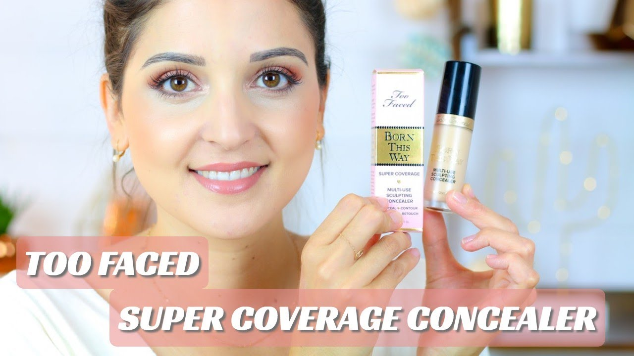Too Faced Born This Way Super Coverage Concealer Top Ou Flop Youtube