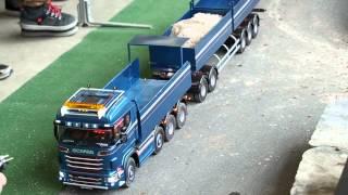 RC Trucks & Tractors at Model Expo 2015