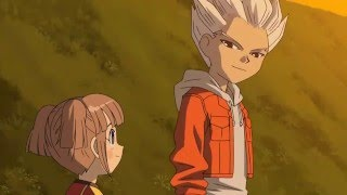 Very first look of Axel Blaze in Enazuma Eleven ..