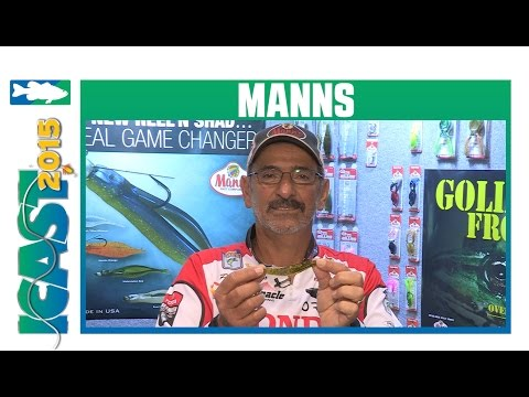 Mann's Reel N' Shad With Paul Elias | ICAST 2015