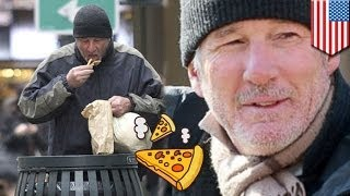 Richard Gere mistaken for homeless man, given leftover pizza by New York tourist