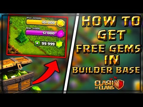 How to Get Free Clash of Clans Gems in Builder Base June 2017 | Free Gems
