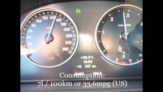 2011 bmw 520d fuel consumption test