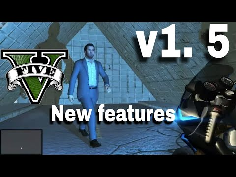 GTA V 1.5 Apk New Stuff Unity Gta V(Android)  #Smartphone #Android