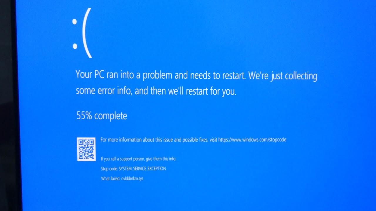 Blue Screen Atikmpag.Sys