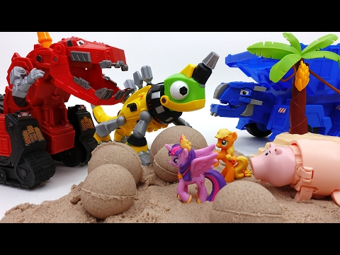 Thumbnail: Earthquake~! Go Dinotrux Recover Pig Cave from an Earthquake