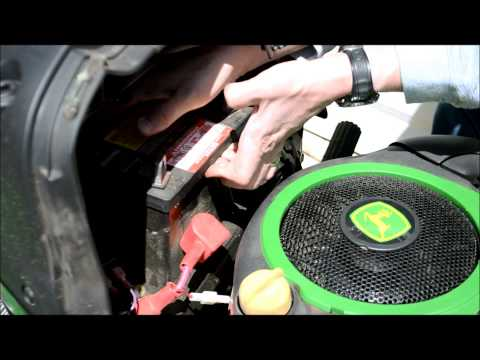 John Deere Lawn Tractor Battery Change: A guide