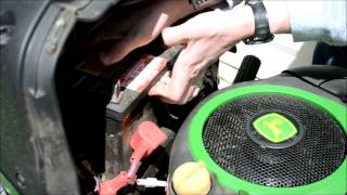 John Deere Lawn Tractor Battery Change: A guide