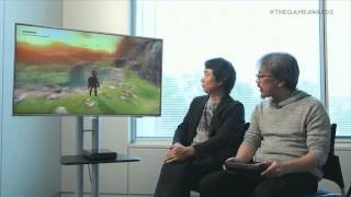 World Premiere - Zelda Wii U at The Game Awards