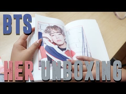 BTS LOVE YOURSELF 承 'Her' Album Unboxing | ALL VERSIONS
