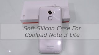 Silicon soft case for coolpad note 3 lite