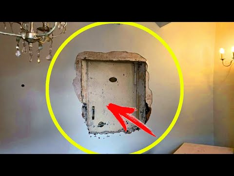 Мужчина нашёл замурованную дверь в своём доме. А когда он её открыл, то был в изумлении, увидев...