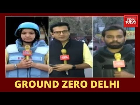 Inside Riot Hit North East Delhi | India Today At Ground Zero