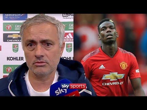 Jose Mourinho denies 'fall-out' with Paul Pogba!