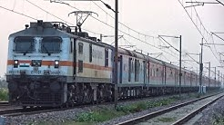 Morning 130 kmph Action Of The Rajdhani Gang In NCR Territory | Indian Railways