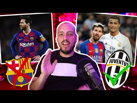 Messi y Cristiano Ronaldo Podrian Jugar en el MISMO Equipo -Wefere NEWS
