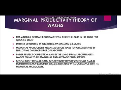 WAGES PART 1  MICRO ECONOMICS