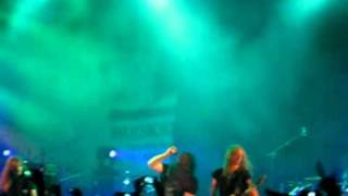 Katatonia Live in India, Mumbai City - Teargas.avi