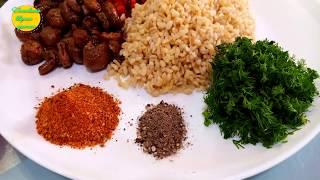 Кабачки Фаршированные БУЛГУРОМ и ГРИБАМИ Вкуснейшее блюдо для разнообразия