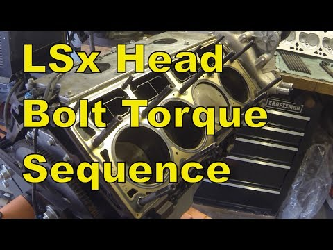 "LSx Head Install Torque Sequence ""How To"" - eBay Head ..."