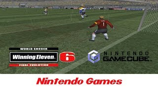 World Soccer Winning Eleven 6 Final Evolution (Brazil x Germany Gameplay) Nintendo GameCube