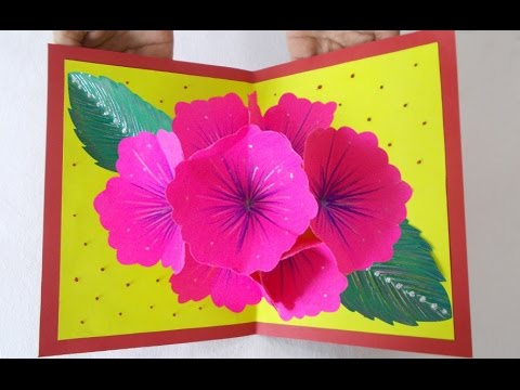 Pop up greeting card making ideas amazing diy handmade paper card pop up greeting card making ideas amazing diy handmade paper card idea for your loved ones m4hsunfo