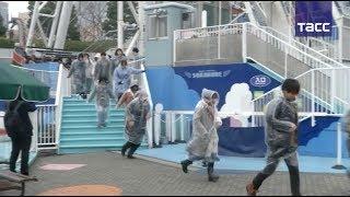 Как прошли учения по эвакуации в Токио