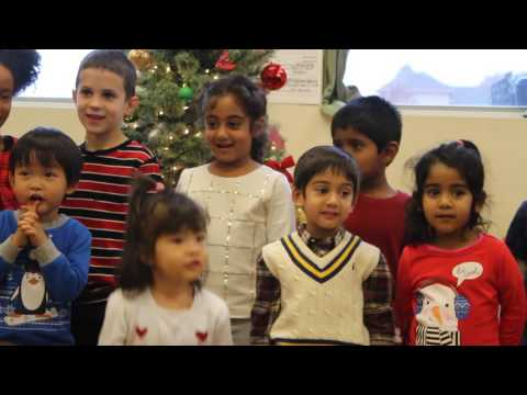 Holiday Party 12/2016 Healthy Beginnings Montessori House Video 1