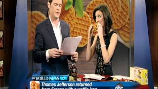 WNN Celebrates International Waffle Day!