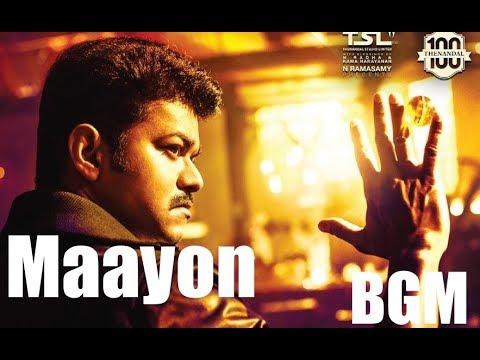 Mersal BGM - Maayon Theme Music | Vijay, Samantha, Kajal | A R Rahman | Atlee