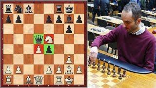 Dubious Blunder By Harutyunyan vs. GM Ter-Sahakyan