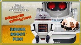 Unboxing old tech drunk. Robots!
