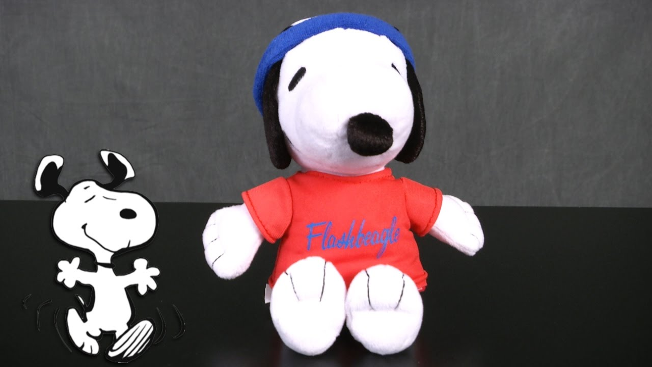 Peanuts Snoopy Plush From Just Play Youtube