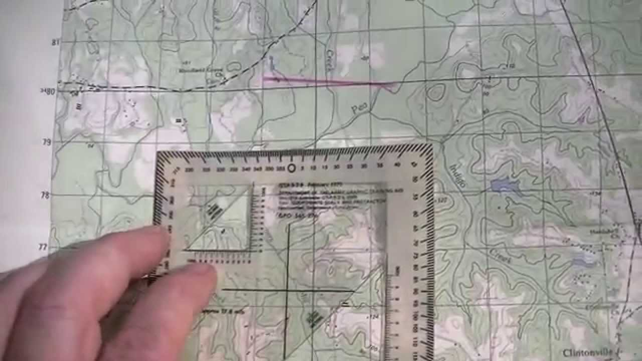 how to read map coordinates