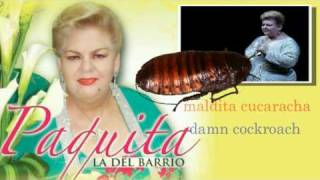 Paquita la del Barrio - Rata de dos patas (Lyrics in Spanish/English)